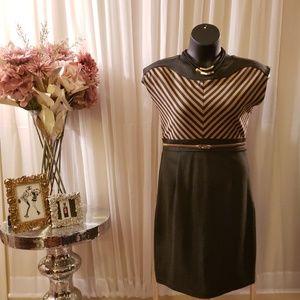 Zip Shoulder Dress